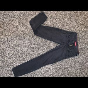 Black super stretchy jeans